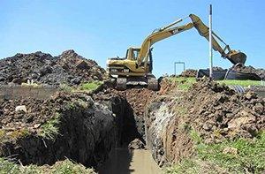 Drainage System Installation & Design | Munie Lawn Specialist